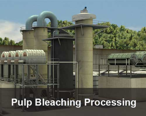 pulp bleaching processing