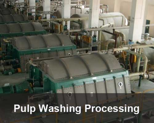 pulp washing processing