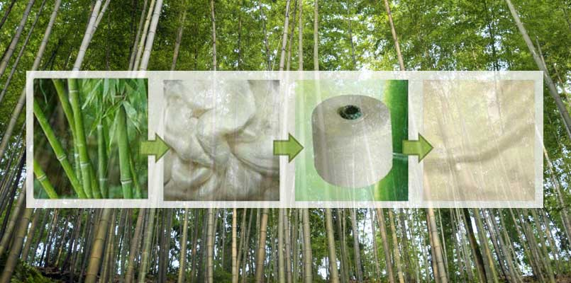 bamboo pulp making