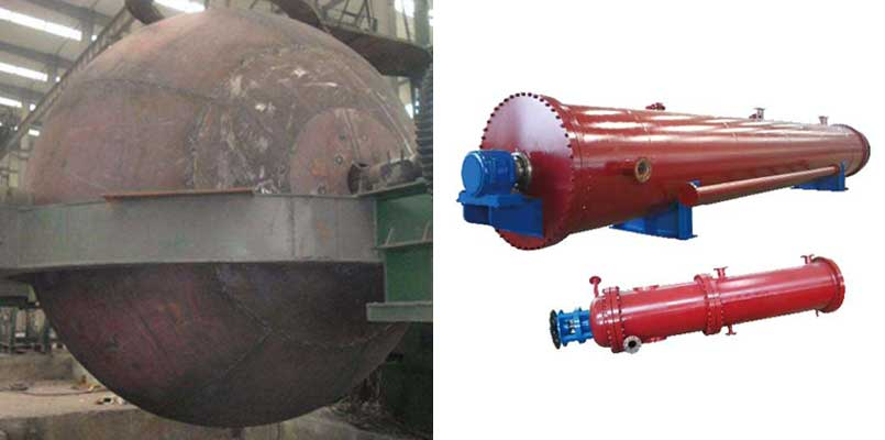 comparison of continuous tubular digester and spherical digester
